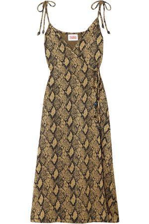 Solid Women Casual Dresses - 3/4 length dresses
