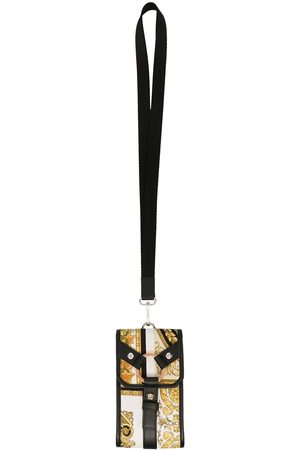 VERSACE Baroque pattern pouch