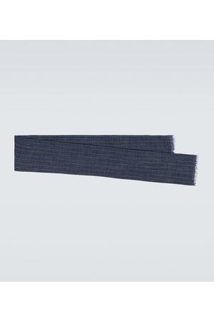 Brunello Cucinelli Silk and linen scarf