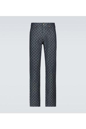Gucci GG jacquard logo jeans