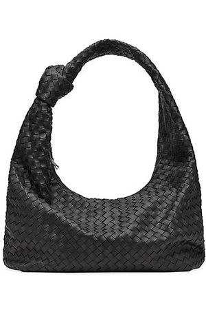 Bottega Veneta Hidrology Intrecciato Leather Hobo Bag