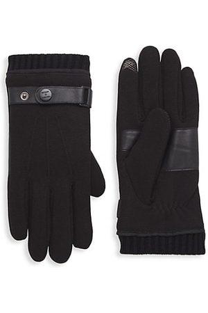 Bickley+Mitchell Men Gloves - Leather-Trim Gloves