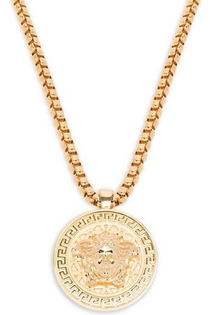 VERSACE Men Necklaces - Medusa Medallion Chain Necklace