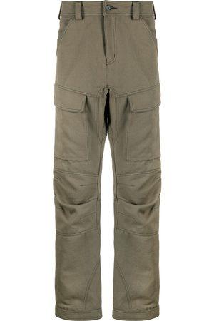 KOCHÉ Straight-leg cargo trousers