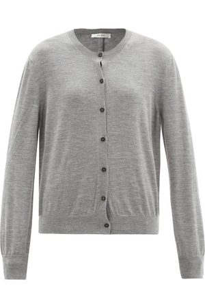 The Row Women Cardigans - Battersea Round-neck Cashmere Cardigan - Womens