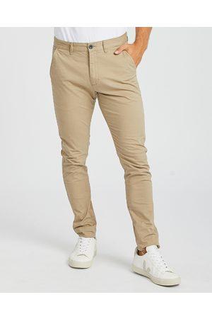 Dr Denim Men Chinos - Heywood Chino - Pants (Khaki) Heywood Chino