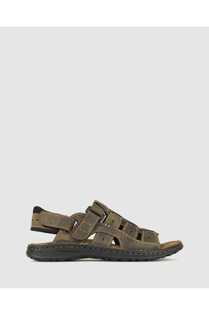 Airflex Men Sandals - Rick Leather Sandals - Casual Shoes Rick Leather Sandals