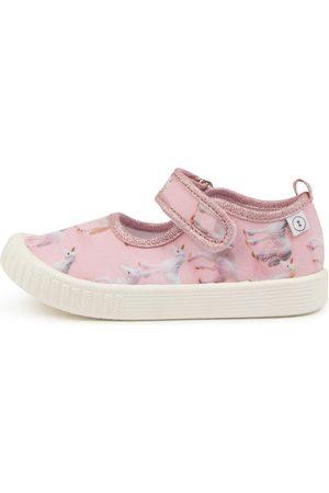 Walnut Melbourne Poppies Mary Jane Tot Wa Unicorns Shoes Girls Shoes Casual Flat Shoes