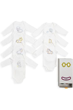 Stella McCartney Baby's 7-Piece Days Of The Week Bodysuit Set