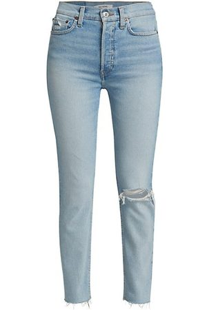 RE/DONE 90s High-Rise Ankle Crop Jeans