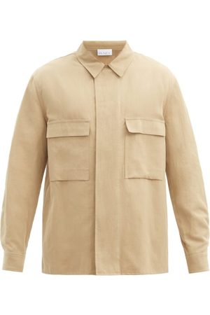 Raey Relaxed-fit Cotton-blend Shacket - Mens
