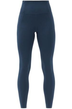 GIRLFRIEND COLLECTIVE High-rise Compression Leggings - Womens - Navy