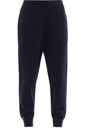 EXTREME CASHMERE No. 56 Yogi Stretch-cashmere Track Pants - Womens - Navy