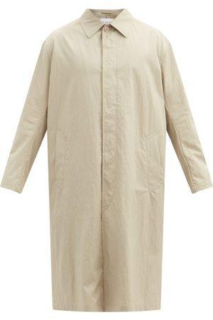 Raey Men Trench Coats - Oversized Water-resistant Cotton-blend Trench Coat - Mens - Tan