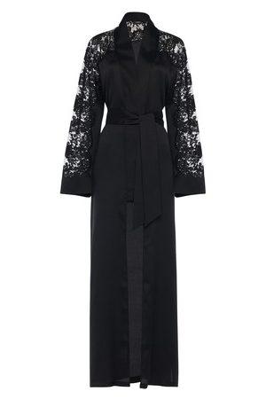 La Perla Dress In Silk With Leavers Lace