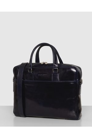 Republic of Florence The Tokyo Leather Laptop Briefcase - Bags The Tokyo Leather Laptop Briefcase