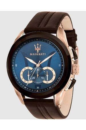 Maserati Traguardo 45mm Chronograph Watch - Watches Traguardo 45mm Chronograph Watch