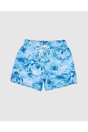 Aqua Blu Men Board Shorts - Atlas Running Shorts Kids - Swimwear (Atlas) Atlas Running Shorts - Kids