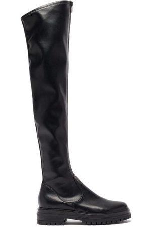 Maison Margiela Tabi Split-toe Patent-leather Derby Shoes - Mens