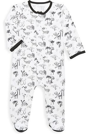 Magnetic Me Baby Bodysuits & All-In-Ones - Baby's Animal Safari Magnetic Footie