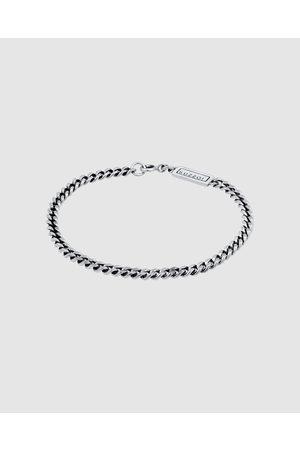 Kuzzoi Bracelet Chain Basic Trend Oxidised in 925 Sterling - Jewellery Bracelet Chain Basic Trend Oxidised in 925 Sterling