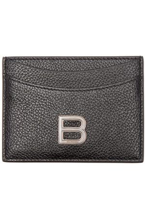 Balenciaga Hourglass Grained-leather Cardholder - Womens
