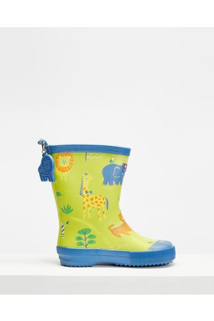 Penny Scallan Long Gumboots Kids - Boots (Wild Thing) Long Gumboots - Kids