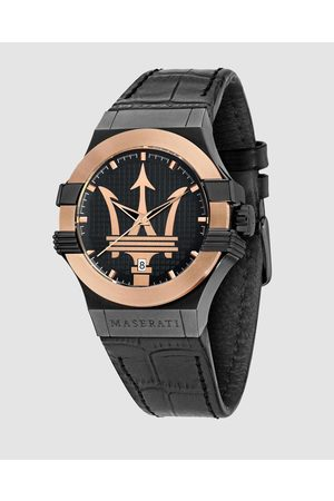 Maserati Men Watches - Potenza 42mm Rose Gold Bezel Watch - Watches Potenza 42mm Rose Gold Bezel Watch