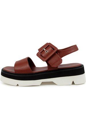 Tony Bianco Jett Tb Saddle Sandals Womens Shoes Casual Sandals Flat Sandals