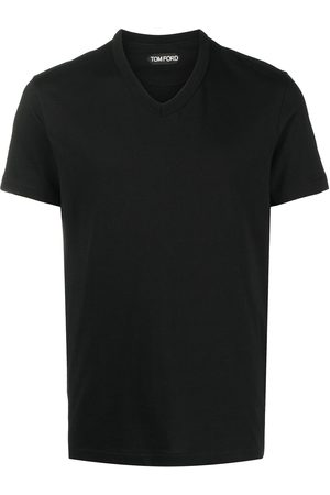Tom Ford Men Short Sleeve - V-neck cotton T-shirt