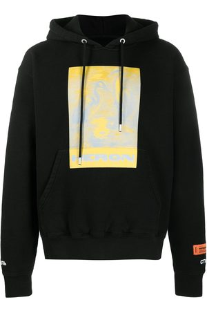 Heron Preston Litho organic cotton hoodie