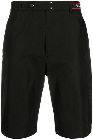 Alexander McQueen Men Shorts - Logo waistband shorts