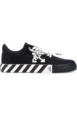 OFF-WHITE Men Sneakers - Logo-patch low-top sneakers