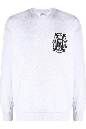 MARCELO BURLON Logo embroidery sweatshirt