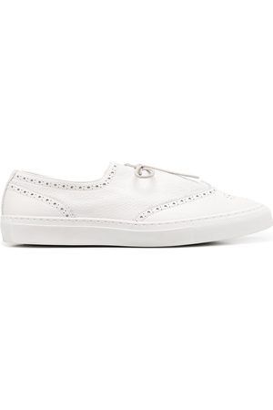 MACKINTOSH Perforated lace-up sneakers