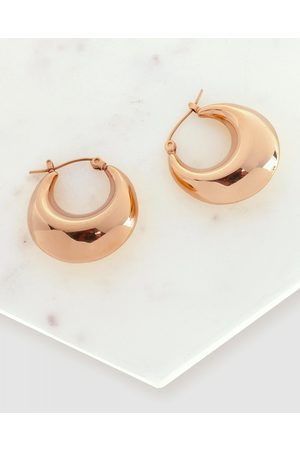 Pastiche Wide Cali hoops - Jewellery (Rose ) Wide-Cali hoops