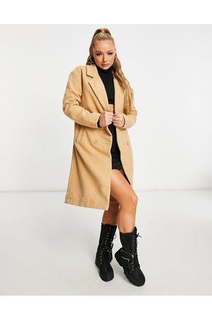 Threadbare Overcoat in camel-Tan