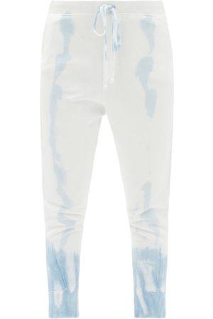 NILI LOTAN Women Joggers - Nolan Tie-dye Cotton-jersey Track Pants - Womens - Light