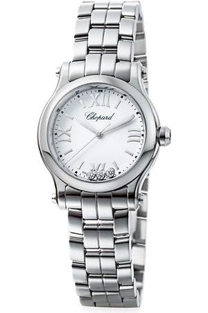 Chopard Happy Sport Stainless Steel & Diamond Bracelet Watch