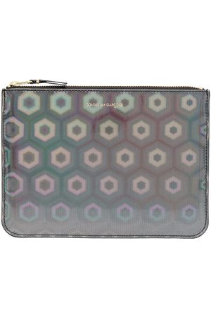 Comme des Garçons Holographic zipped wallet