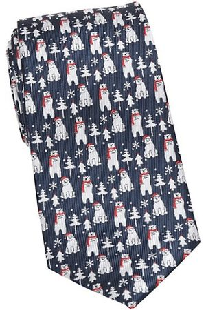 Cufflinks, Inc. Holiday Polar Bear Silk Tie