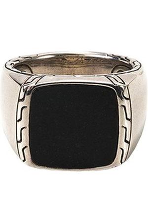 John Hardy Men Cufflinks - Jade silver signet ring