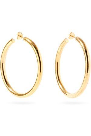 Otiumberg Large Recycled 14kt -vermeil Hoop Earrings - Womens