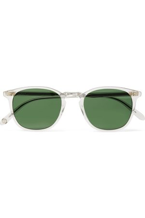 Garrett Leight California Optical Kinney D-Frame Acetate Sunglasses