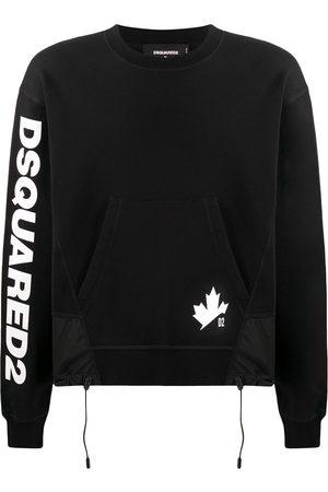 Dsquared2 Maple Leaf logo-print sweatshirt