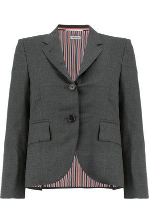 Thom Browne Women Blazers - Notched-lapel single-breasted blazer