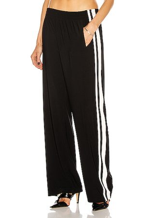 Norma Kamali Side Stripe Boyfriend Sweatpant in