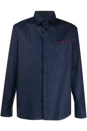 Marni Men Short Sleeve - Logo printed shirt