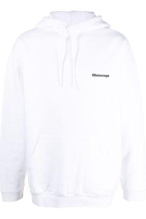 Balenciaga BB embroidered logo hoodie