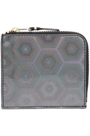 Comme des Garçons Geometric print wallet